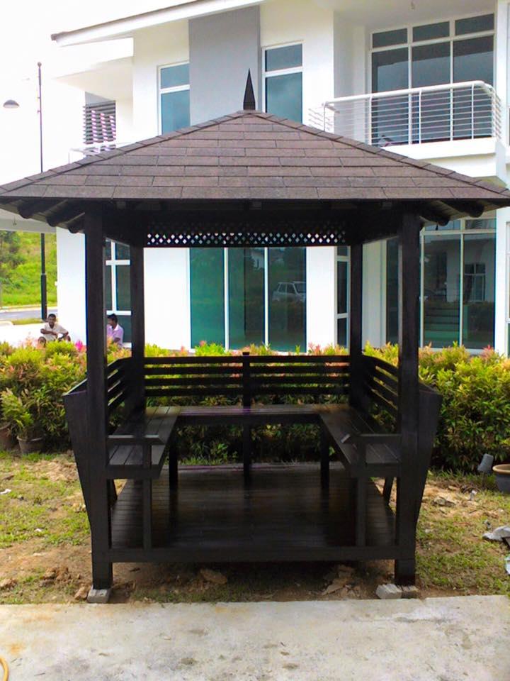 PERKHIDMATAN BUAT GAZEBO ,WAKAF DI LEMBAH KLANG,MALAYSIA